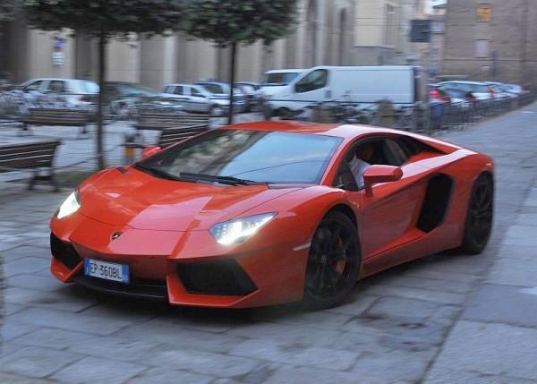 AudiGRT13: Lamborghini Aventador