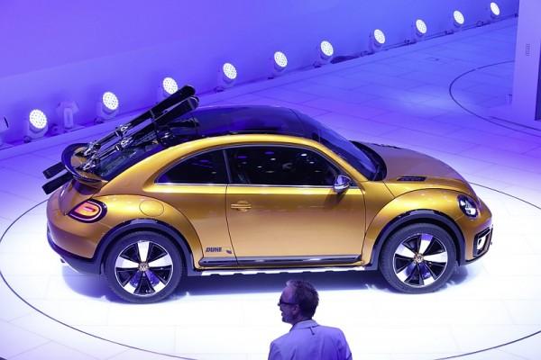 VW Beetle Dune Detroit 2014 2