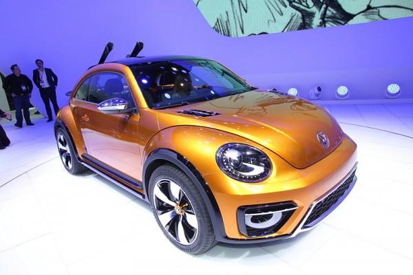 VW Beetle Dune Detroit 2014