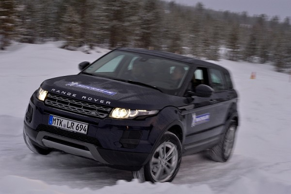 Michelin Winter Experience 2014 Evoque