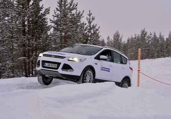 Michelin Winter Experience 2014 Ford Kuga Off Road Hoch