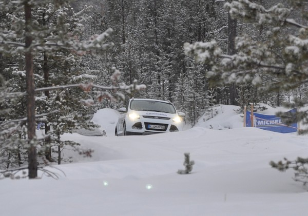 Michelin Winter Experience 2014 Ford Kuga Off Road