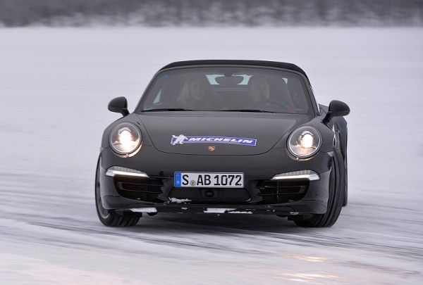 Michelin Winter Experience 2014 Porsche 911 Carrera 4S
