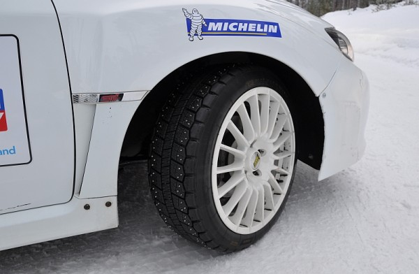 Michelin Winter Experience 2014 Subaru Spikes