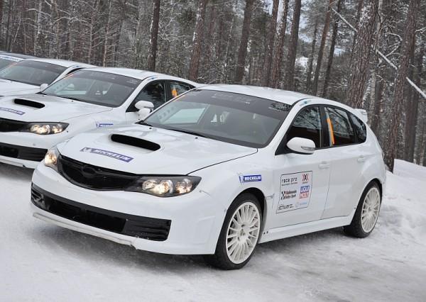 Michelin Winter Experience 2014 Subaru WRX STI Gruppe N