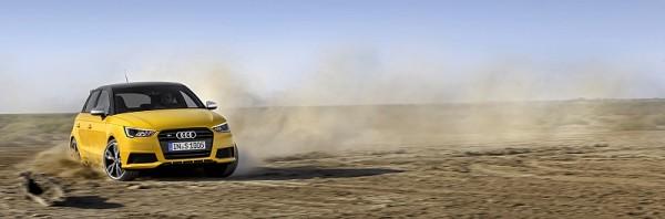 Audi S1 Drift