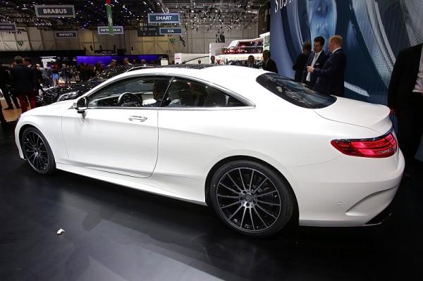 Mercedes S-Klasse Coupe Hinten