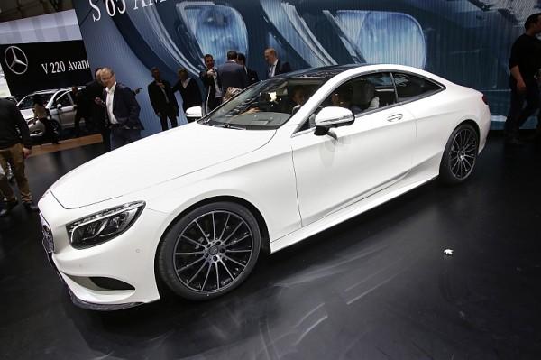 Mercedes S-Klasse Coupe Vorne