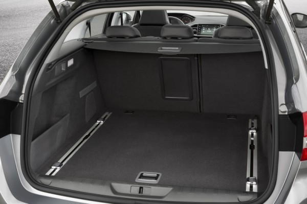 Peugeot 308 SW Kofferraumkonzept