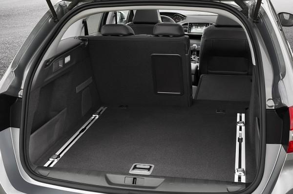 Peugeot 308 SW Kofferraum
