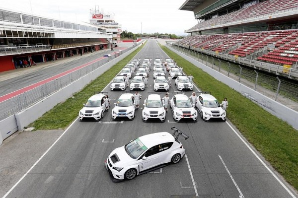 Seat Leon Cup Racer Teams 2014