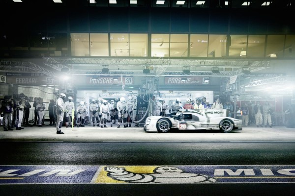 Porsche und Michelin beim 24-Stunden-Rennen von Le Mans 2014