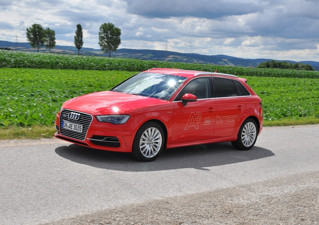 Der neue Audi A3 Sportback e-tron im Fahrbericht