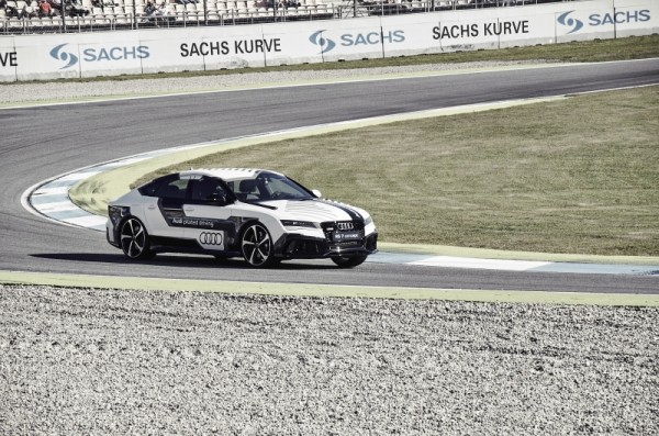 Audi RS 7 concept Piloted Driving3