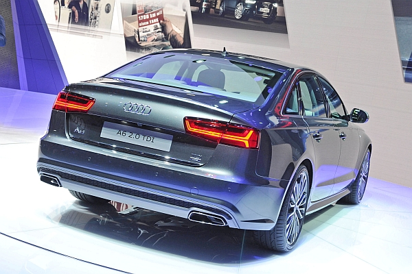 Neuer Audi A6 2