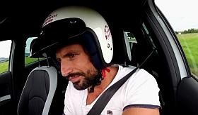 Tom Beck auf dem Weg zum Rennfahrer