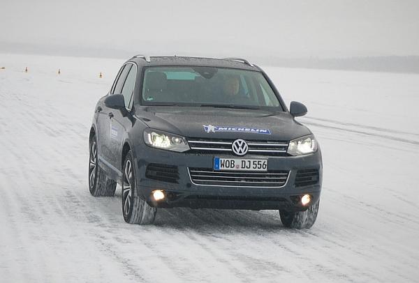 Michelin Winter Experience Sicher Autofahren im Winter