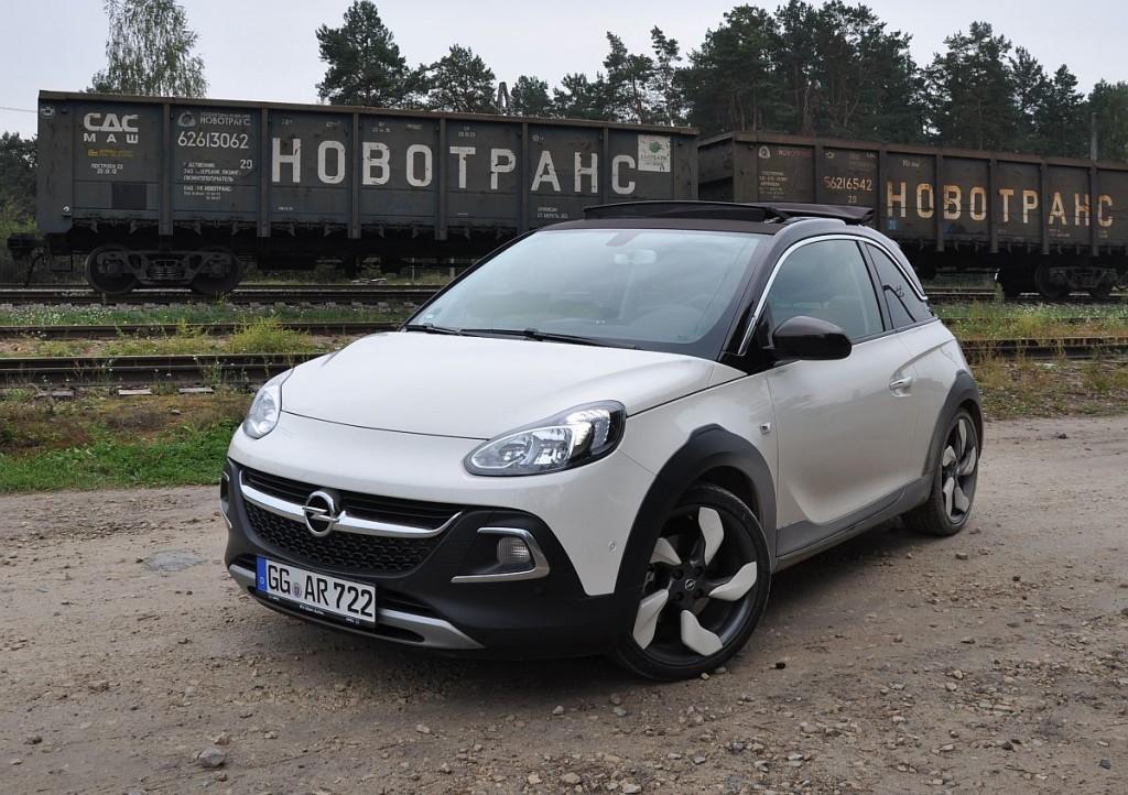 Fahrbericht: Opel Adam Rocks mit dem 1,0-Liter-Dreizylinder