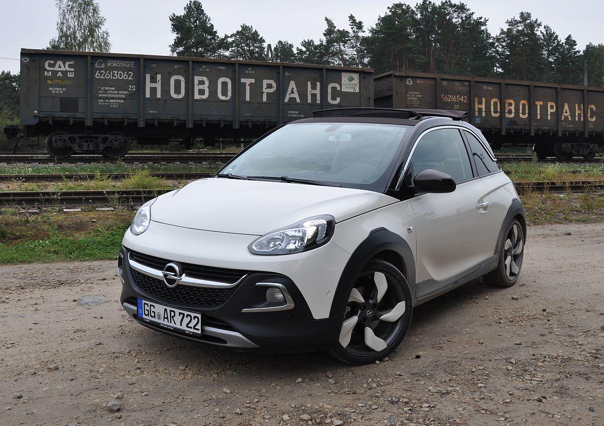 Fahrbericht Opel Adam Rocks Mit Dem 1 0 Liter Dreizylinder