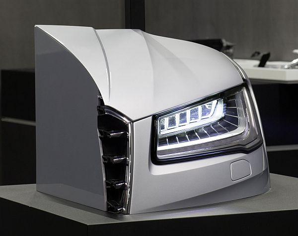 Audi A8 Matrix-Scheinwerfer