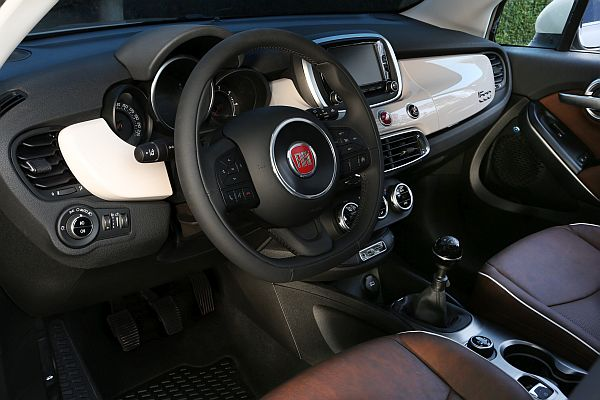 Fiat 500X Interieur Automobil-Blog