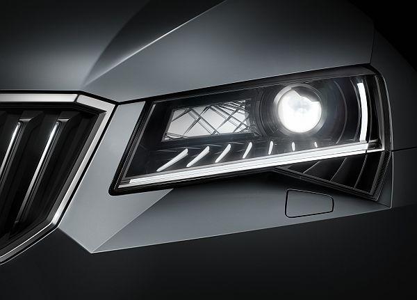 Skoda Superb 2015 Scheinwerfer