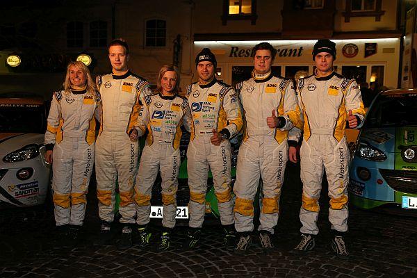 ADAC Rallye Saarland Pfalz 2015 Opel Adam Teams