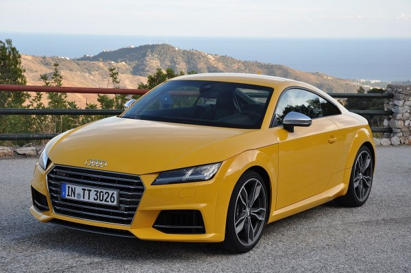 Audi TTS Fahrbericht Landstrasse