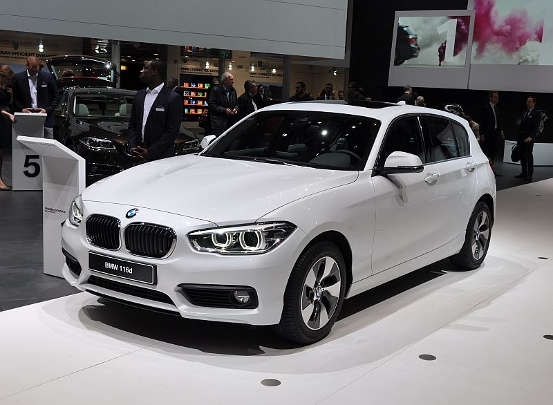 genf 2015 bmw 1er f20 facelift automobil blog. Black Bedroom Furniture Sets. Home Design Ideas