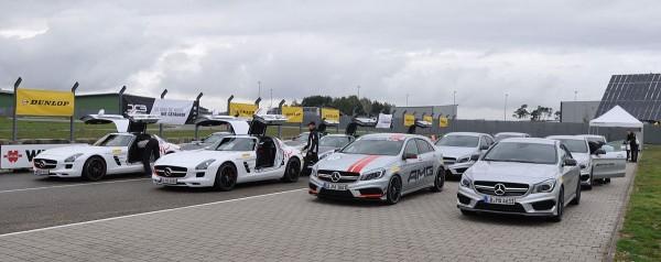 Dunlop AMG Driving Academy die Sportgeräte