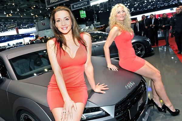 Genf 2015 - Messe-Babes 000