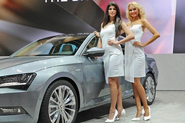 Genf 2015 - Messe-Babes 007
