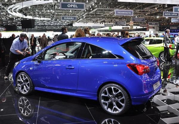Genf 2015 Opel Corsa OPC 4