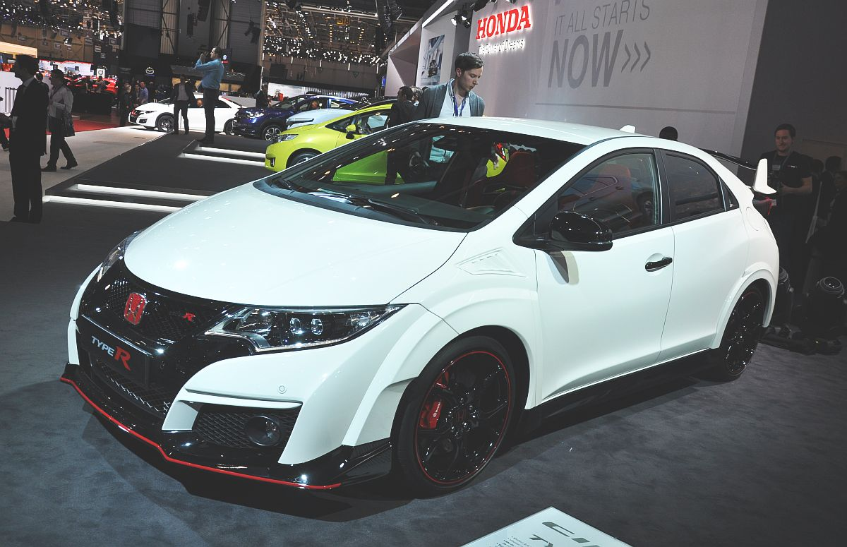 genf 2015 der neue honda civic type r. Black Bedroom Furniture Sets. Home Design Ideas