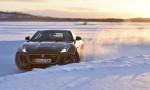 Michelin Winter Experience 2015 Moritz Nolte im Drift Jaguar F-Type