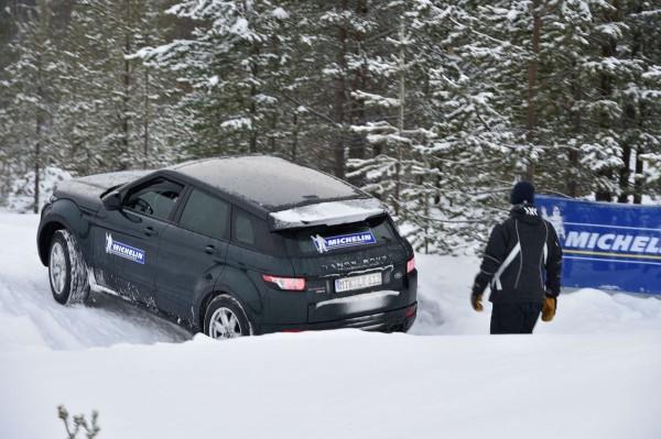 Michelin Winter Experience 2015 Offroad im Range Rover Evoque