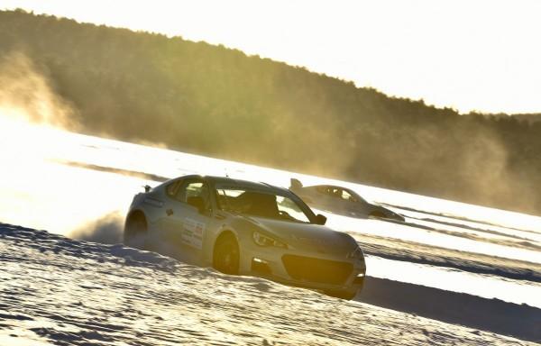 Michelin Winter Experience 2015 Subaru BRZ und Toyota GT86 TRD