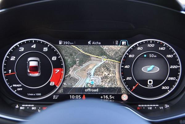 Neuer Audi TTS Coupe 2015 Audi virtual cockpit