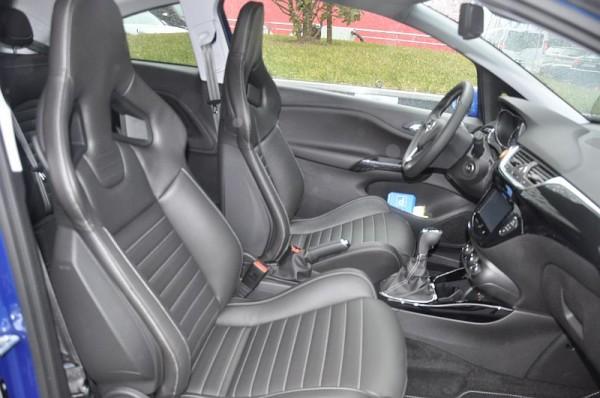 Opel Corsa E OPC Cockpit