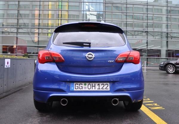 Opel Corsa E OPC Heck