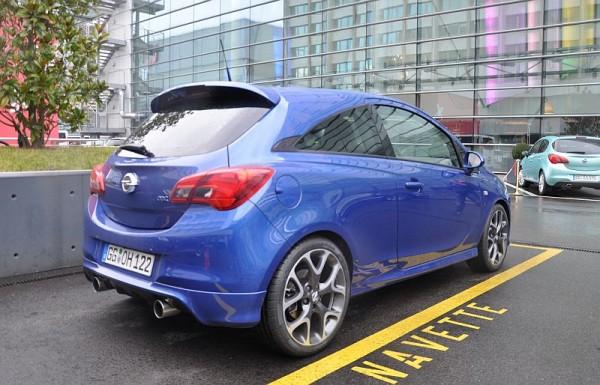 Opel Corsa E OPC Hinten 3-4