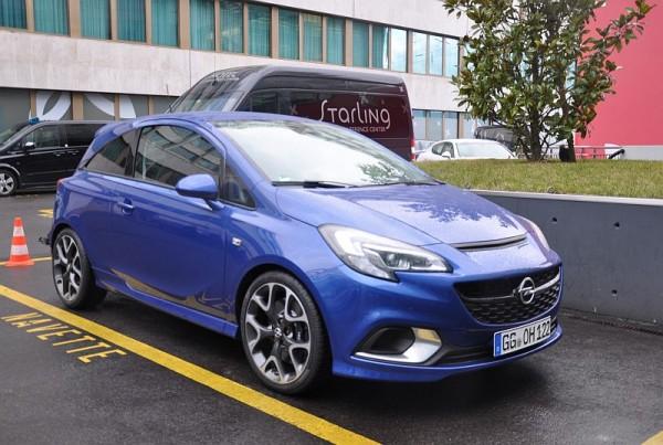 Opel Corsa E OPC Vorne 3-4
