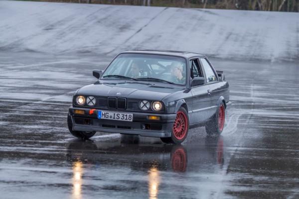 Blogger Day Bilster Berg - BMW 318is E30