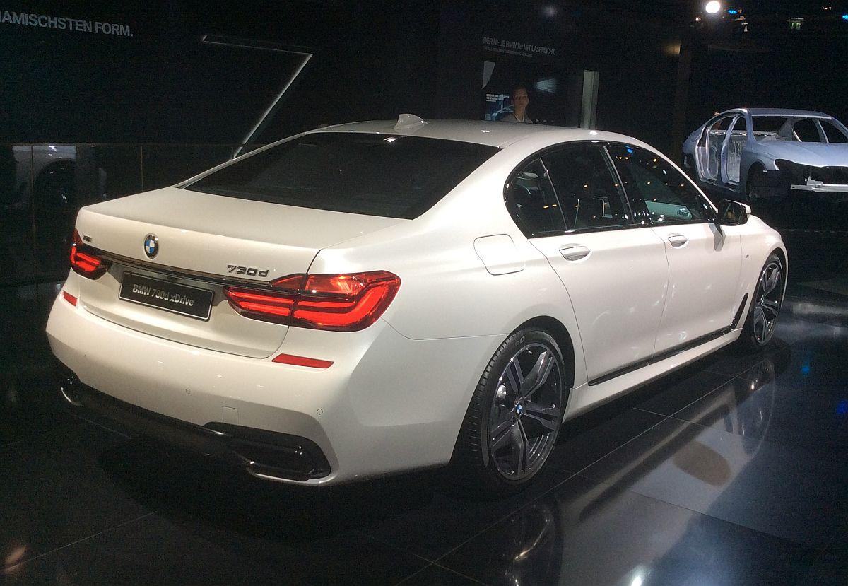 Iaa 2015 Neuer Bmw 7er G11 Mit M Sport Paket Automobil Blog