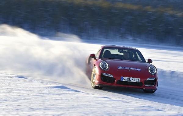 Armin Schwarz im Porsche 911