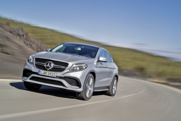 Mercedes-AMG GLE 63 Coupé 4MATIC, Exterieur: Diamantsilber ; Mercedes-AMG GLE 63 Coupé 4MATIC, exterior: diamond silver;