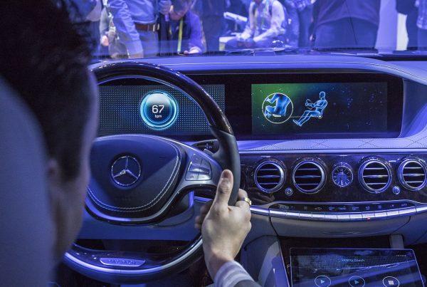 Mercedes will S-Klasse zum Wellness-Mobil machen