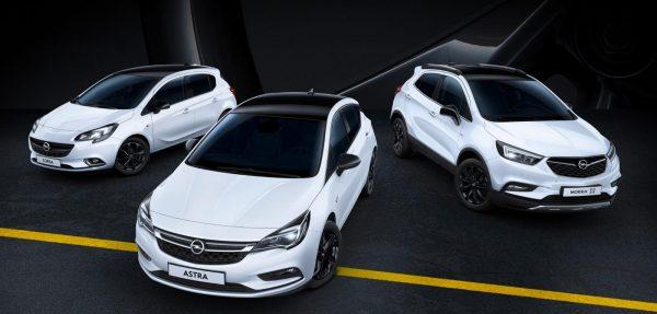 Opel Corsa_Astra_Mokka X_Black Sondermodelle_2018_01
