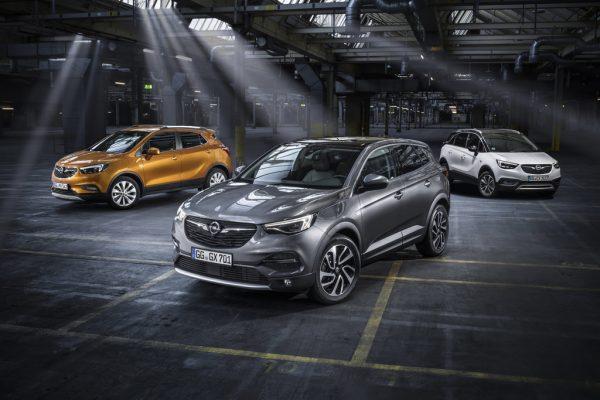Opel Mokka X, Grandland X und Crossland X_2018_01