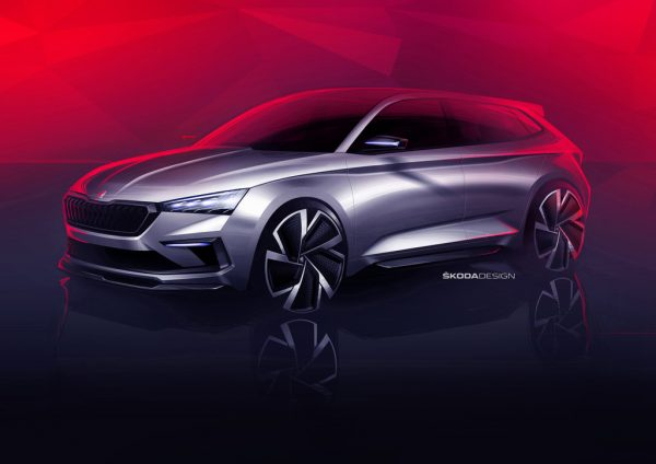Škoda Vision RS_Studie_2018_01